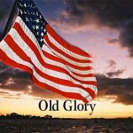 Old Glory tung bay trong gió