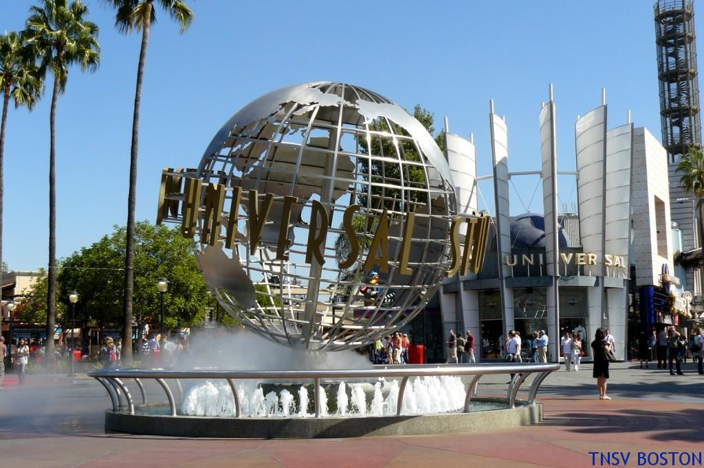 Trường quay Universal ở thành phố Los Angeles