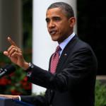 Tổng thống Obama trong buổi phát biểu tại Nhà Trắng