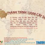 Hanh Trinh 13000 Cay So