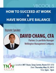 VBCOOL 5: How to Succeed at Work and Have Work Life Balance @ MIT Sloan, Tang Center (Building 51), Room E51-372 | Cambridge | Massachusetts | United States