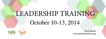 Leadership training 2014